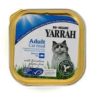 8714265090127 - Yarrah - Bouchées bio maquerau pour chat adulte