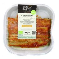 8008481801927 - Ben Fatto - Cannelloni Bio Ricotta et Epinards