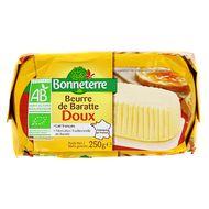 3396410003227 - Bonneterre - Beurre de baratte doux bio