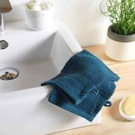 3574388009827 - Douceur D Interieur - 2 gants de toilette Eponge Beu Nuit