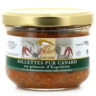 3356650025328 - Panache Des Landes - Rillettes pur canard au piment d'Espelette