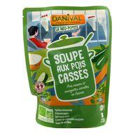 3431590007228 - Danival - Soupe bio aux pois cassé