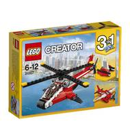 5702015867528 - LEGO® Creator - 31057- L'hélicoptère rouge