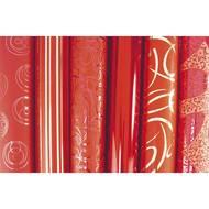 3329680958928 - Maildor - Un rouleau de papier cadeau rouge 80g/m²
