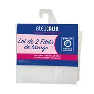 3153633430229 - Bleu calin - Lot de 2 filets de lavage pour oreillers