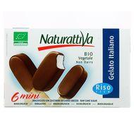 8006040710529 - Naturattiva - 6 Mini bâtonnets au lait de riz Bio