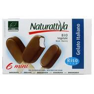 8006040710529 - Naturattiva - 6 Mini bâtonnets au lait de riz Bio 6x50ml