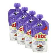 2050000354229 - Elite Organic - Gourde Pomme Myrtille Mure Cranberry
