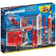 4008789094629 - PLAYMOBIL® City Action - Caserne de pompiers avec hélicoptère
