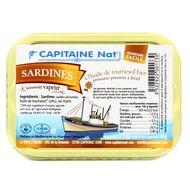 3522920001730 - Capitaine Nat - Sardines à l'huile de tournesol bio