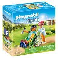 4008789701930 - PLAYMOBIL® City Life - Patient en fauteuil roulant