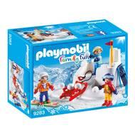 4008789092830 - PLAYMOBIL® Family Fun - Enfants avec boules de neige