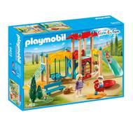 4008789094230 - PLAYMOBIL® Family Fun - Parc de jeu avec toboggan