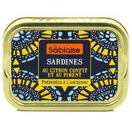 3375160006030 - La Sablaise - Sardines au citron confit et au piment