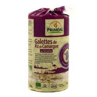 3380380060731 - Priméal - Galettes de riz bio de Camargue au Sésame
