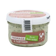 3483130801131 - Les Petites Laiteries - Fromage à tartiner ail & fines herbes