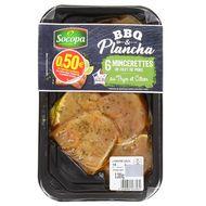 3039050533531 - Socopa - Mincerettes de filet de porc au thym et citron