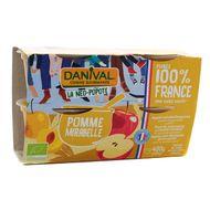 3431590013731 - Danival - Purée pomme mirabelle 100% Origine France