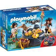 4008789066831 - PLAYMOBIL® Pirates - Pirates et trésor royal