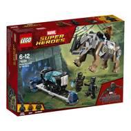 5702016110432 - LEGO® Super Heroes Marvel - 76099- Black Panther contre Killmonger- Le combat dans la mine