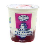3760074380732 - Ferme de Viltain - Yaourt bicouche fraise