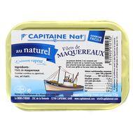 3522920012132 - Capitaine Nat - Filet de maquereaux au naturel