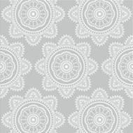 5412931052532 - codima - Serviettes Mandala gray 33 x 33 cm