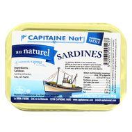 3522920001433 - Capitaine Nat - Sardines au naturel