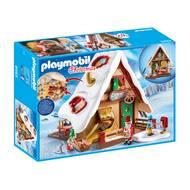4008789094933 - PLAYMOBIL® Christmas - Atelier de biscuit du Père Noël avec moules