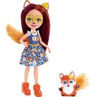 0887961695533 - Enchantimals - Mattel - Mini Poupée Felicity renard et Flick- Enchantimal- FMX71