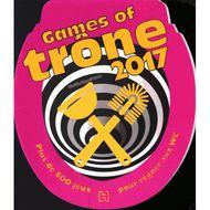 9782012407633 - Hachette pratique - Games of Trone - 800 jeux pour régner aux WC