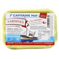 3522920001334 - Capitaine Nat - Sardines à la tomate et huile d'olive bio