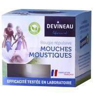 3065873432034 - Devineau - Bougie Géraniol Anti-mouches et Anti-moustiques