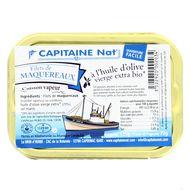 3522920002034 - Capitaine Nat - Filets de maquereaux à l'huile d'olive Bio