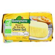 3396410003234 - Bonneterre - Beurre de baratte 1/2 sel bio