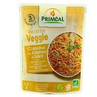 3700477609634 - Priméal - Couscous végétal bio aux légumes du soleil Vegan
