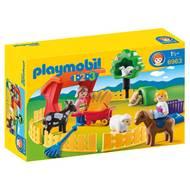 4008789069634 - PLAYMOBIL® 1.2.3 - Parc animalier