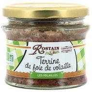 3507170120035 - Rostain - Terrine de foie de volaille Bio