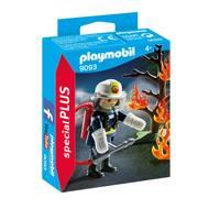 4008789090935 - PLAYMOBIL® Spécial Plus - Pompier avec arbre en feu