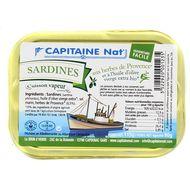 3522920001235 - Capitaine Nat - Sardines aux herbes de Provence et huile olive bio