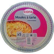 3257984475035 - Cora - Plats à tarte en aluminium