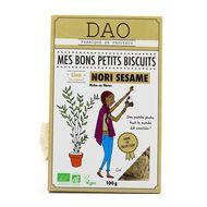 3497900007135 - DAO - Biscuits salé bio Nori Sésame
