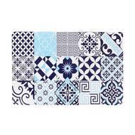 3256390188935 - The Kitchenette - Lot de 6 Sets de table PATCHWORK Bleu