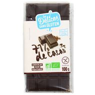 3421557600036 - Grillon Or - Chocolat noir bio 71% de cacao sans gluten