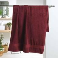 3574388010236 - Douceur D Interieur - Drap de bain Eponge Bourgogne