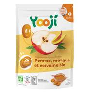 3760234500536 - Yooji - Ma purée de fruits bio- Pomme, mangue, verveine surgelée bio dès 9 mois