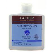 3283950910736 - Cattier - Shampooing Antipelliculaire au Bois de Saule  Cosmébio