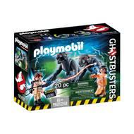 4008789092236 - PLAYMOBIL® Ghostbusters - Venkman et les chiens des ténèbres