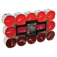 3560238566336 - Le comptoir de la bougie - Bougie chauffre-plat Parfum Fruit Rouge x30