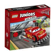 5702015864237 - LEGO® Juniors - 10730- Le propulseur de Flash McQueen- Cars